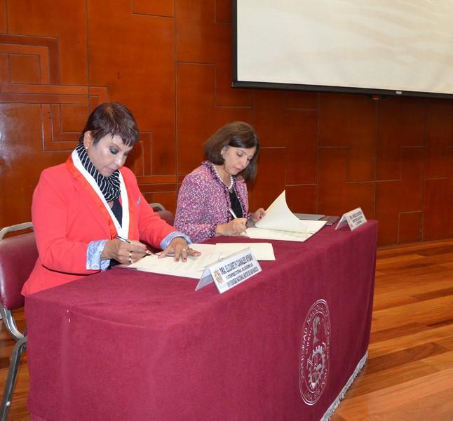 UNMSM y Laspau suscribieron convenio de cooperación educativa