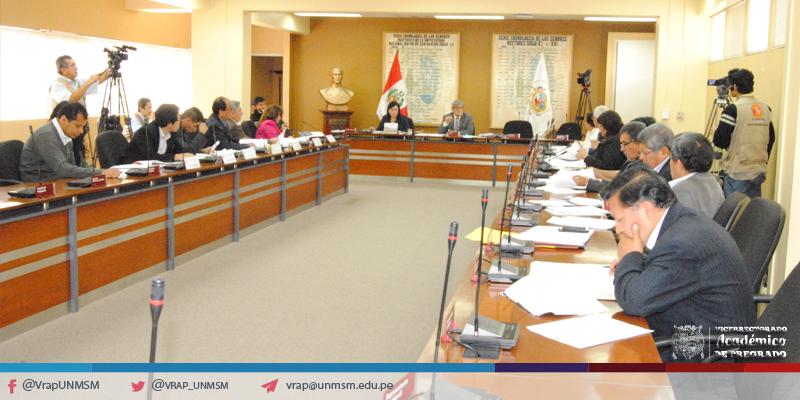 Se aprobaron los reglamentos y cronogramas de Ratificación y Promoción Docente