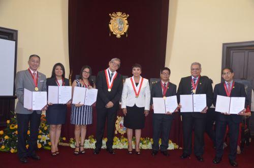 60 docentes con grado de magíster o doctor se incorporaron a Universidad San Marcos