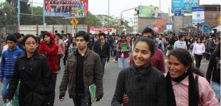 fotos a la salida del examen